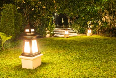 Hire An Electrician for Your Landscape Lighting – Here's Why